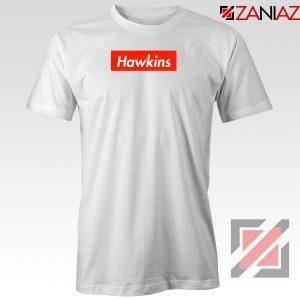 Stranger Things Hawkins White Tshirt