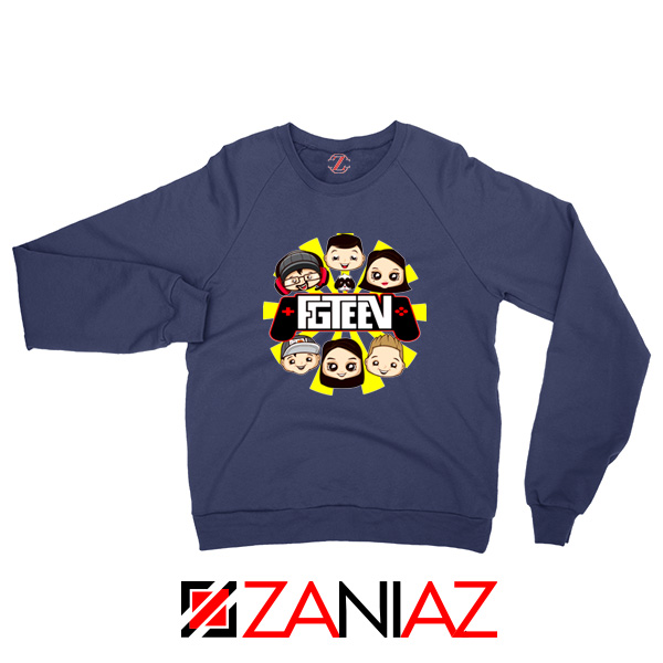 The Family Gaming Team Navy Blue Sweatshirt