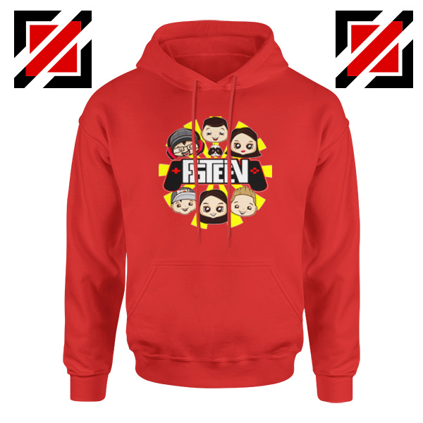The Family Gaming Team Red Hoodie