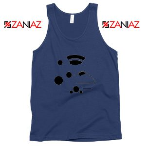 The Kanohi Akaku Navy Blue Tank Top