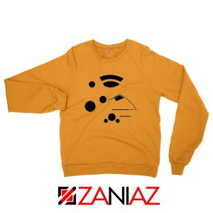 The Kanohi Akaku Orange Sweatshirt