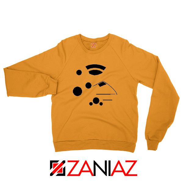 The Kanohi Akaku Orange Sweatshirt