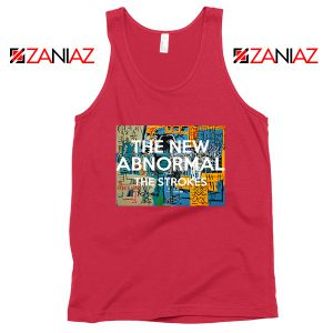 The New Abnormal Red Tank Top