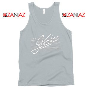 The Strokes Band Sport Grey Tank Top