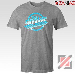 The Strokes Sport Grey Tshirt