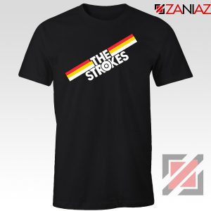 The Strokes Striped Graphic Tshirt