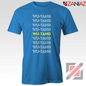 Typography Rapper Blue Tshirt