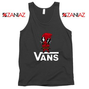 Van Deadpool Black Tank Top