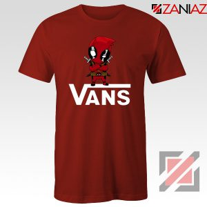 Van Deadpool Red Tshirt