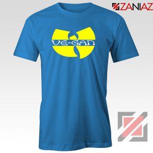 Vegan Logo Wu Tang Clan Blue Tshirt