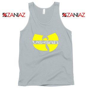 Vegan Logo Wu Tang Clan Sport Grey Tank Top