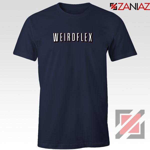 Weird Flex Meme Navy Blue Tshirt