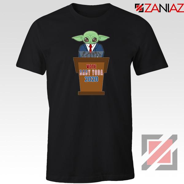 Vote Baby Yoda 2020 Black Tshirt