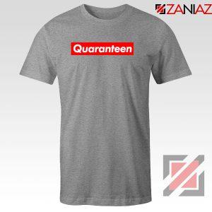 Supreme Quarantine Sport Grey Tshirt