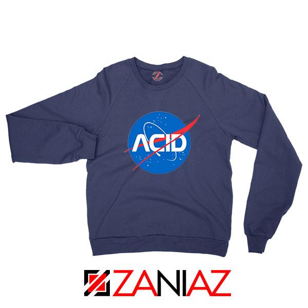 Acid Nasa Navy Blue Sweatshirt