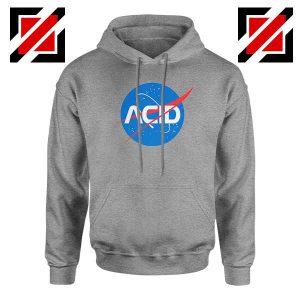 Acid Nasa Sport Grey Hoodie