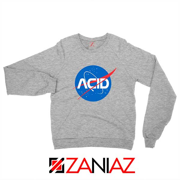 Acid Nasa Sport Grey Sweatshirt