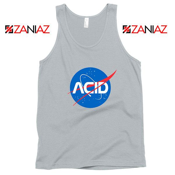 Acid Nasa Sport Grey Tank Top