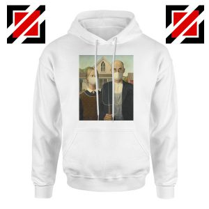 American Gothic Mask Covid 19 Hoodie