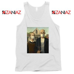 American Gothic Mask Covid 19 Tank Top