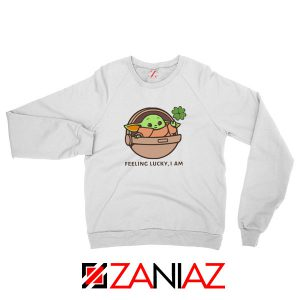 Baby Yoda Feeling Lucky Sweatshirt