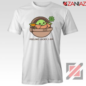 Baby Yoda Feeling Lucky Tshirt