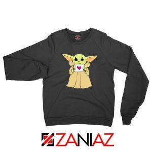 Baby Yoda Valentine Sweatshirt