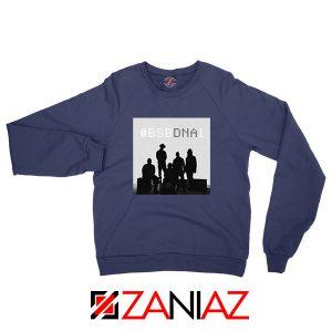 Backstreet Boys Group Navy Blue Sweatshirt