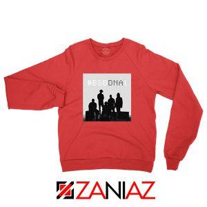 Backstreet Boys Group Red Sweatshirt