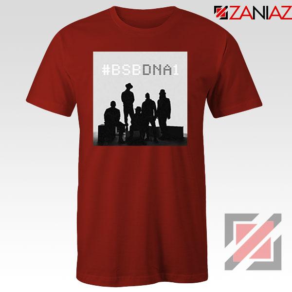 Backstreet Boys Group Red Tshirt