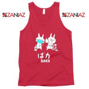 Baka Rabbits Red Tank Top