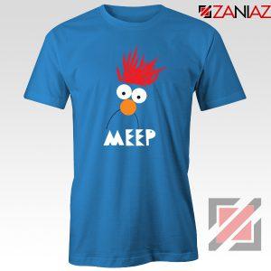 Beaker Muppet Meep Blue Tshirt