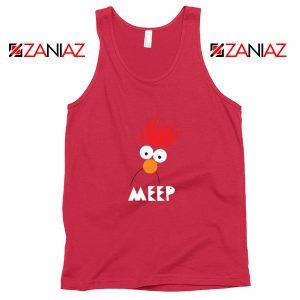 Beaker Muppet Meep Red Tank Top