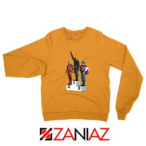 Black Panther Winner Orange Sweatshirt