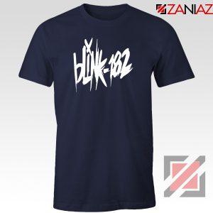 Blink 182 Tour Show Navy Blue Tshirt