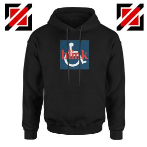Blink 182 Wheelchair Black Hoodie