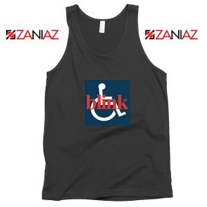 Blink 182 Wheelchair Black Tank Top