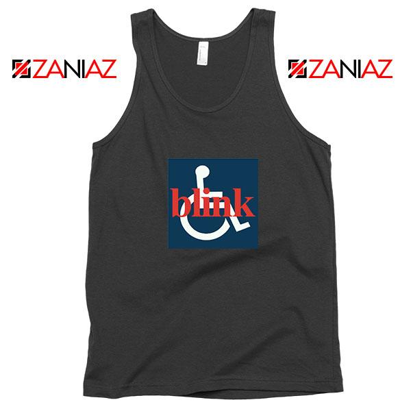 Blink 182 Wheelchair Black Tank Top
