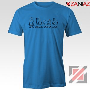 Buy French Cat Blue Tshirt