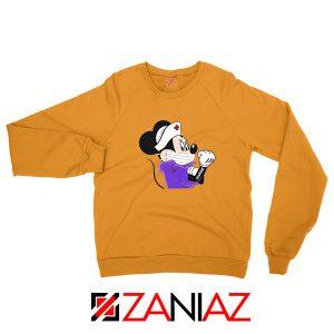 Cute Minnie Mouse Nurse Orange Sweatshirt