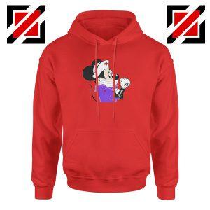 Cute Minnie Mouse Nurse Red Hoodie