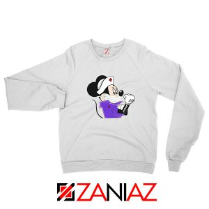 Cute Minnie Mouse Nurse Sweatshirt
