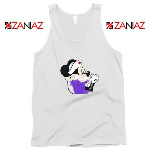 Cute Minnie Mouse Nurse Tank Top