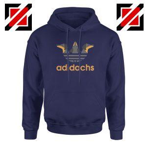 Dachshund Adidachs Navy Blue Hoodie