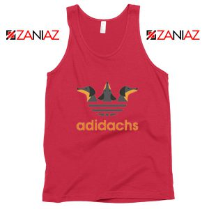 Dachshund Adidachs Red Tank Top