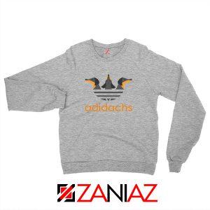Dachshund Adidachs Sport Grey Sweatshirt