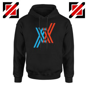 Darling In The Franxx Black Hoodie