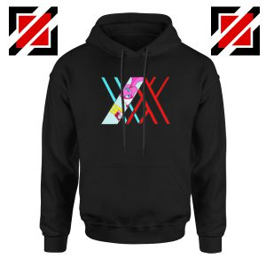 Darling in the franxx Argentea Black Hoodie