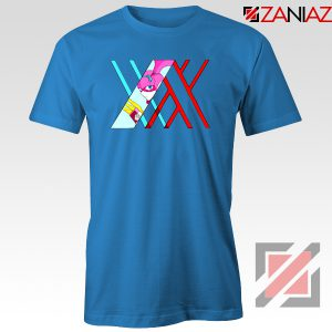Darling in the franxx Argentea Blue Tshirt