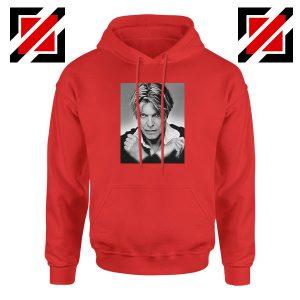 David Bowie Red Hoodie